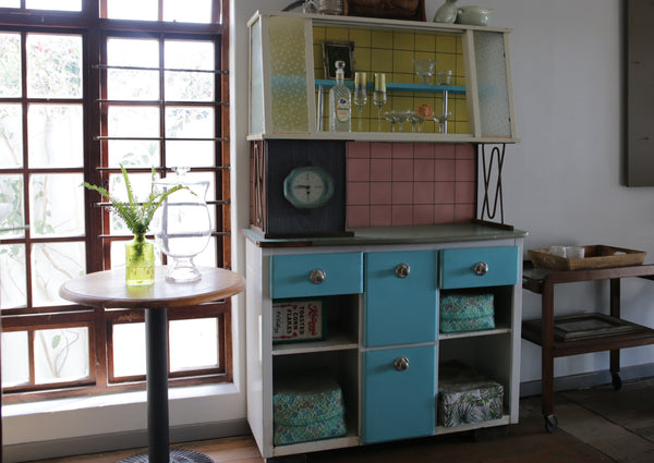 Vintage Metal Kitchenette Table