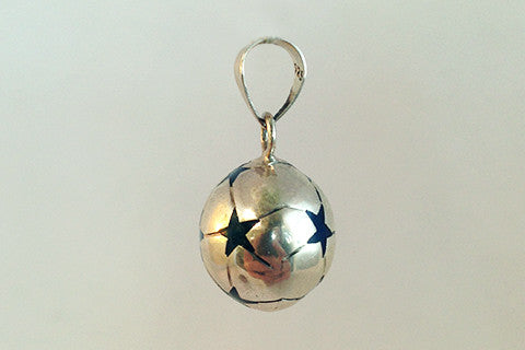 925 silver star detailed pendant