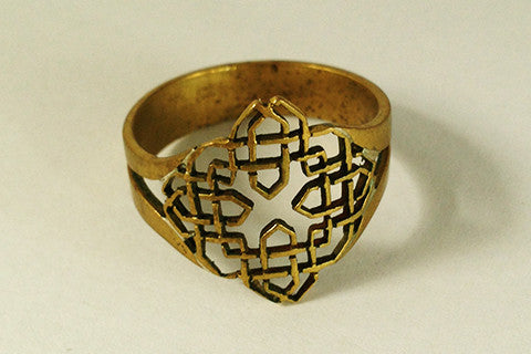 Celtic brass ring