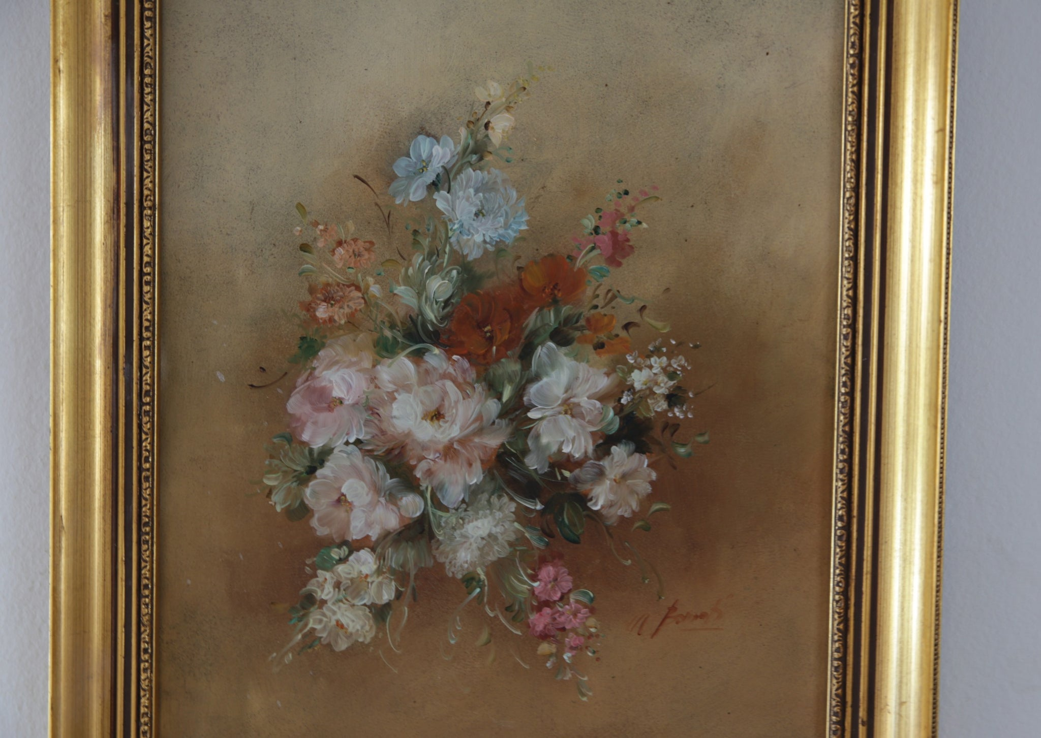 Bouquet of Flowers Painting