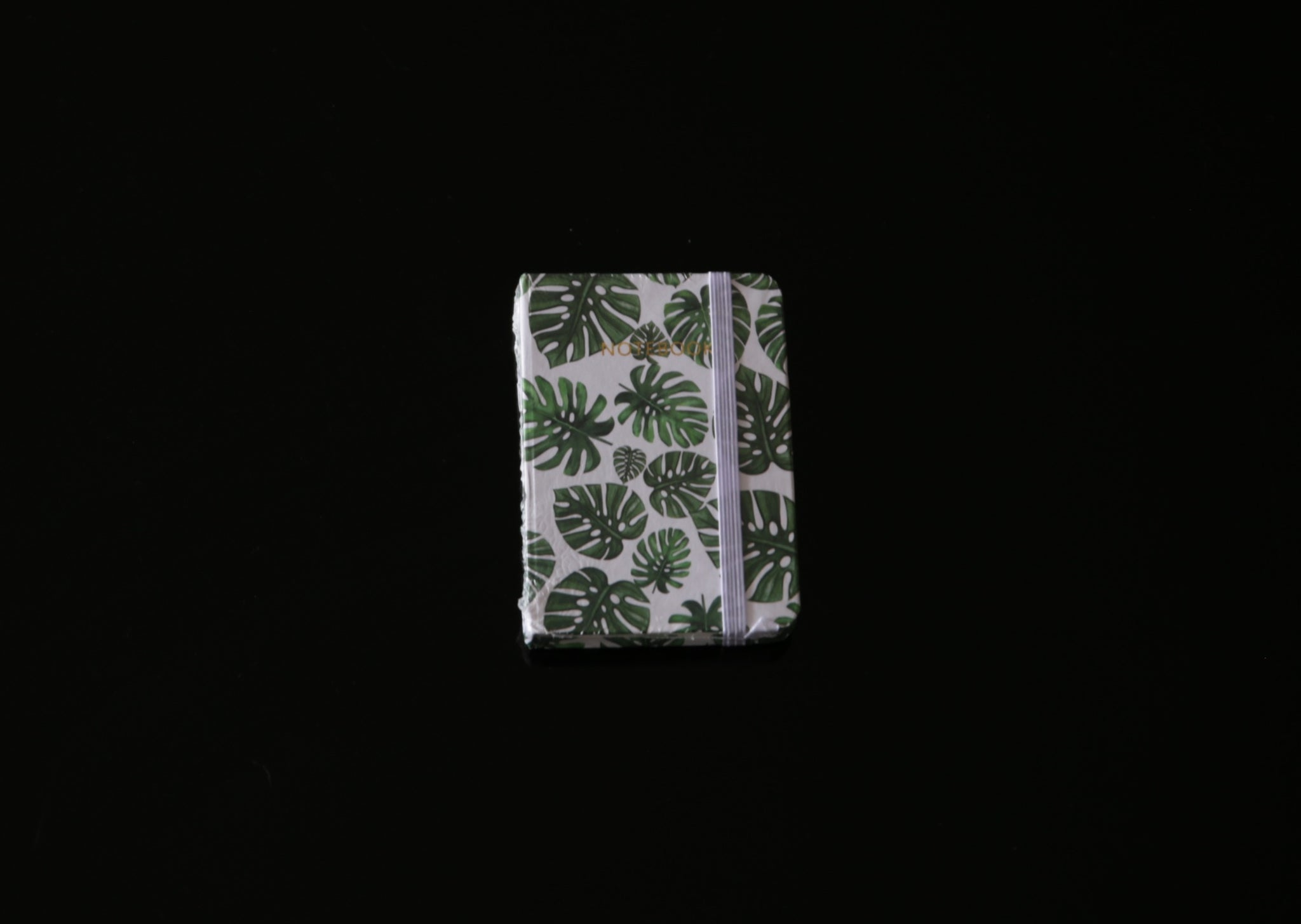 Botanical Leaf Print Notebook Deli Monster Leaf