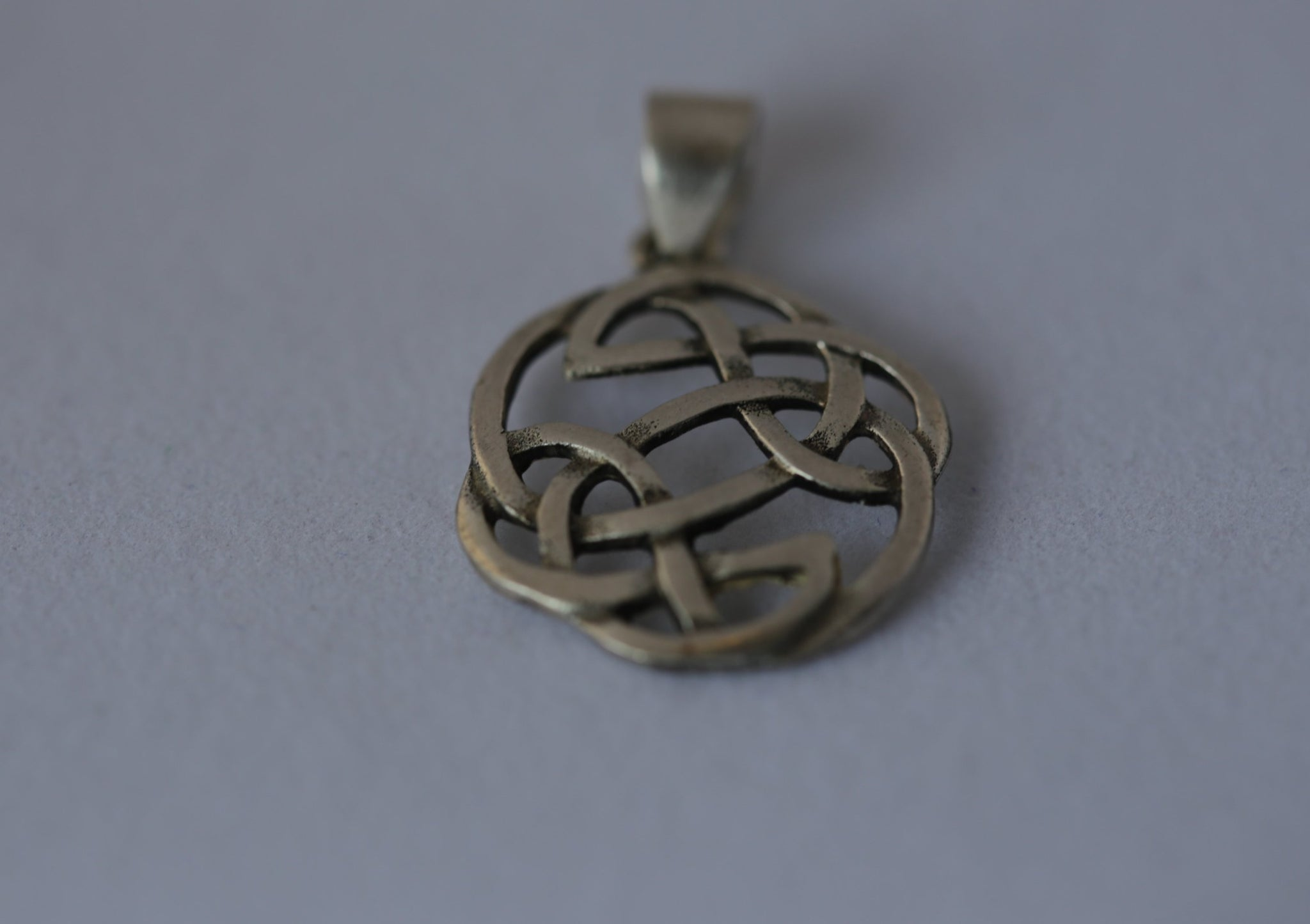 Silver Celtic Sacred Geometry Pendant