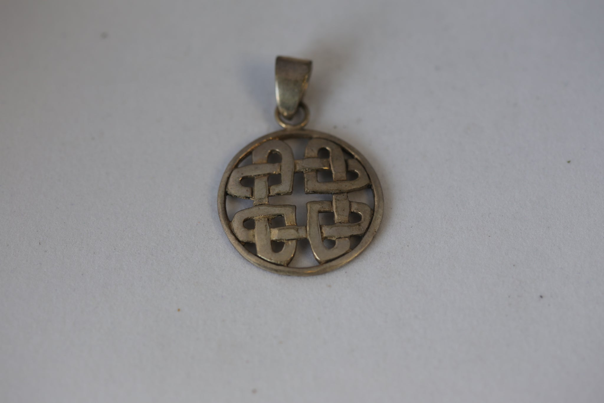 Silver Celtic Sacred Geomtetry Pendant