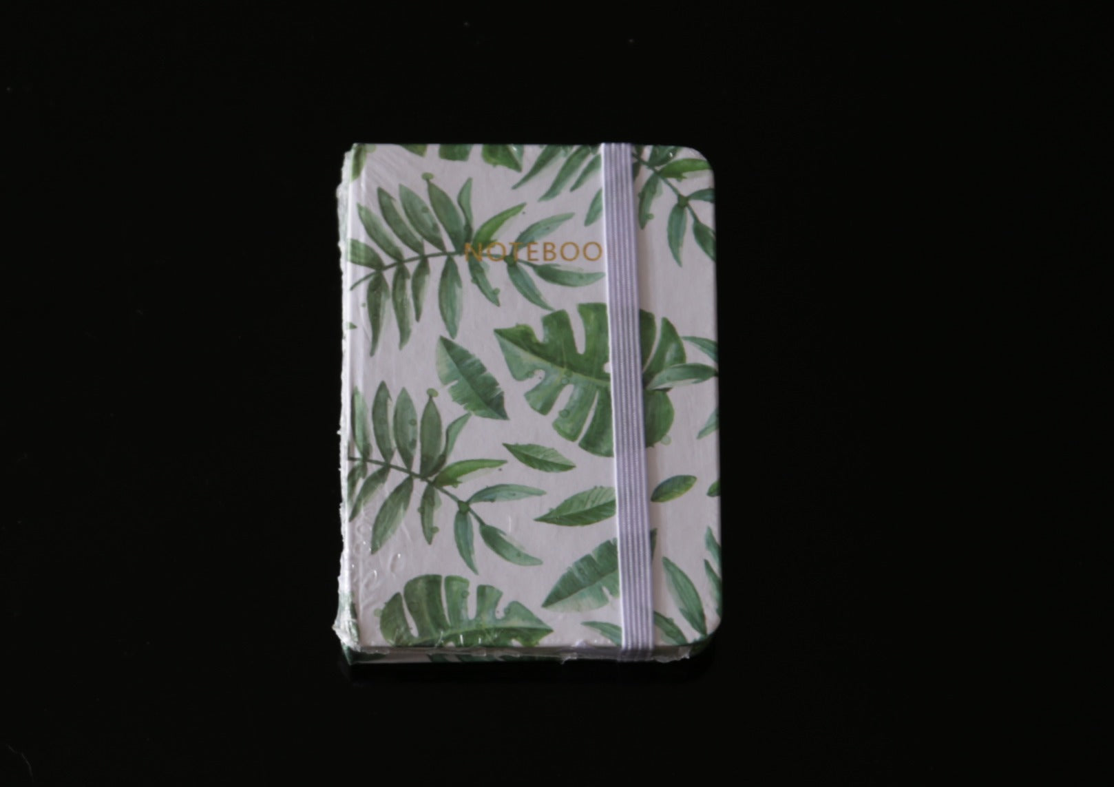 Botanical Leaf Print Notebook Mixed Leaf
