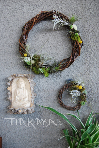 Floral Wreath - Sea stone range