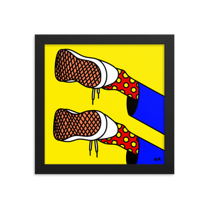ODE TO MY SHOES - Art by roel-van-roozendaal.myshopify.com