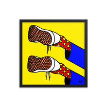 Load image into Gallery viewer, ODE TO MY SHOES - Art by roel-van-roozendaal.myshopify.com