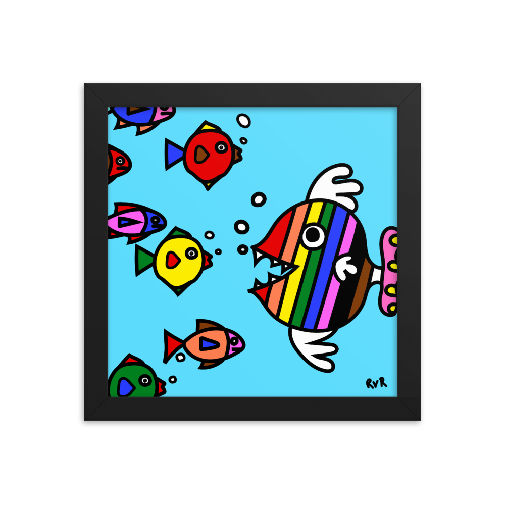 QUEER FISH - Art by roel-van-roozendaal.myshopify.com