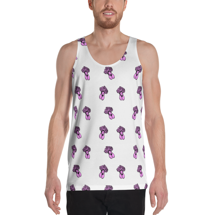 DAVID'S PENIS UNISEX TANK TOP - T-Shirt by roel-van-roozendaal.myshopify.com