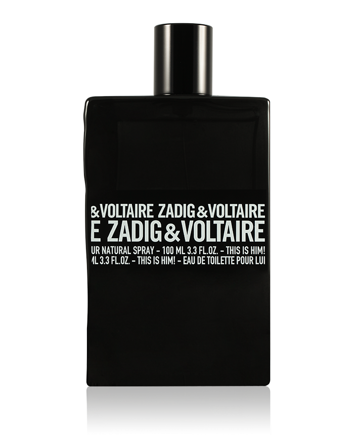 Zadig & Voltaire This is Him! 100ml EDT Eau de Toilette Spray