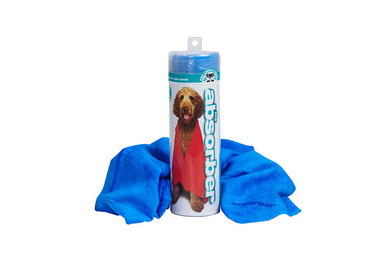 The Absorber® XXL Dog Lover's Towel (20 in. x 32 in.) - Dog Lover's Towel