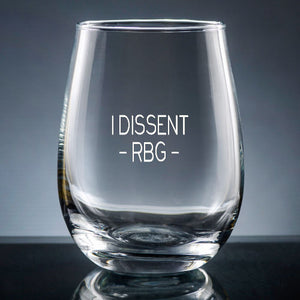 STEMLESS WINE GLASS - DISSENT