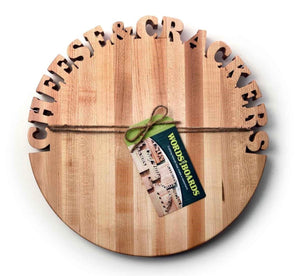 HAND CUT CUTTING BOARD - SUPPORTS ONE TREE PLANTED