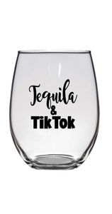 STEMLESS WINE GLASS - TEQUILA