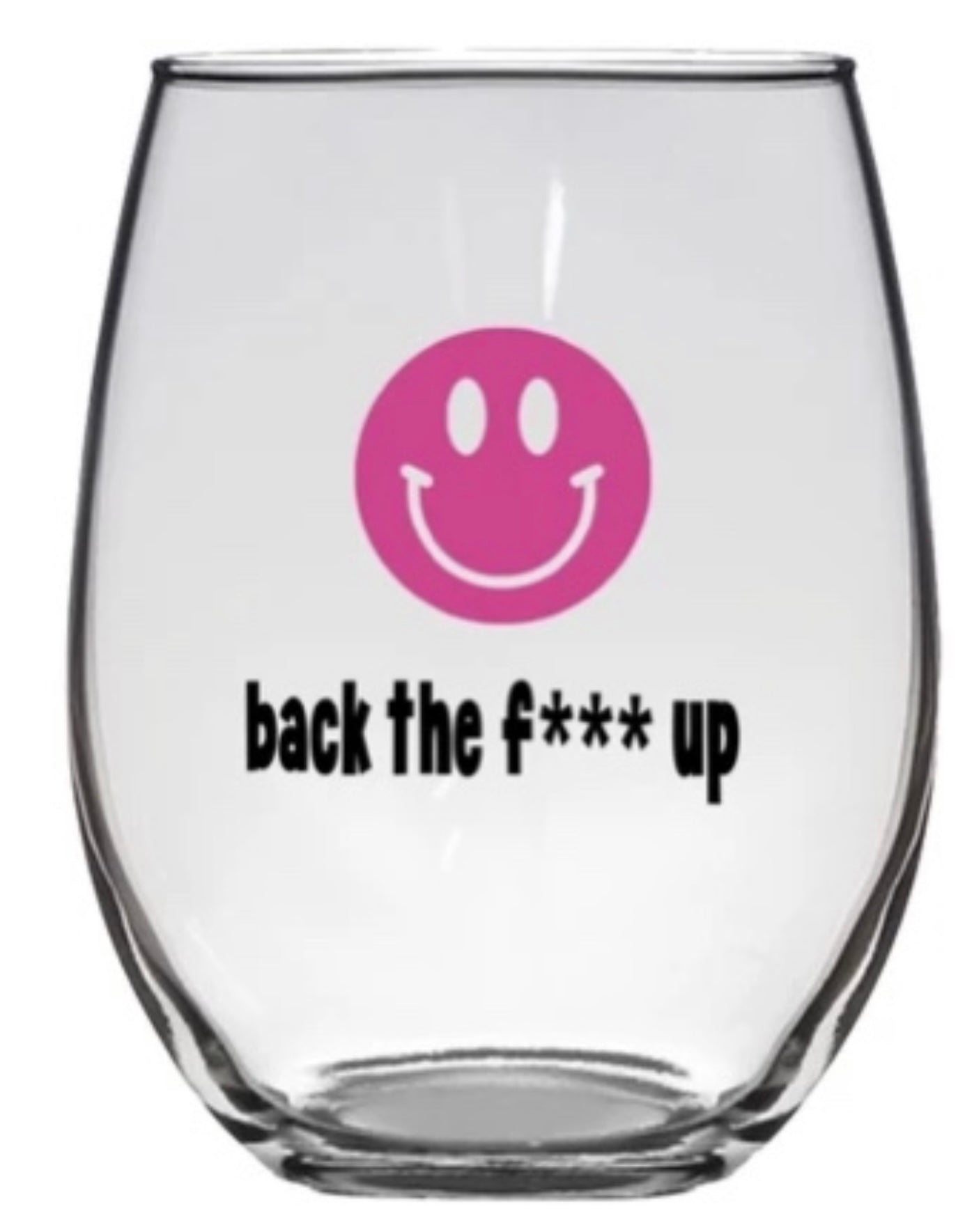 STEMLESS WINE GLASS BACK UP - PW