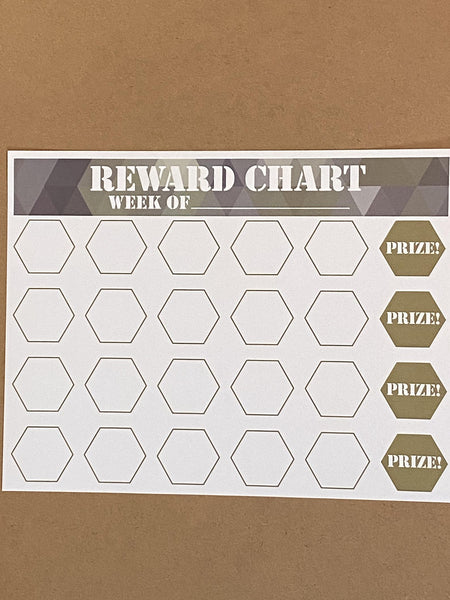 REWARDS CHART BOY
