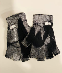 GLOVES - SPRAY PAINTED BLACK PW