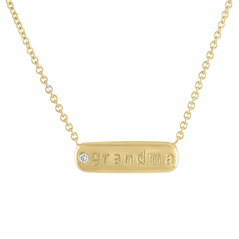 GRANDMA GOLD NECKLACE