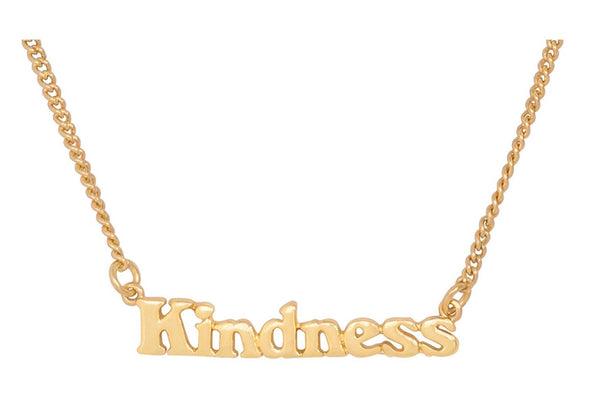 GOOD INTENTIONS NECKLACE - EMPOWERS GIRLS
