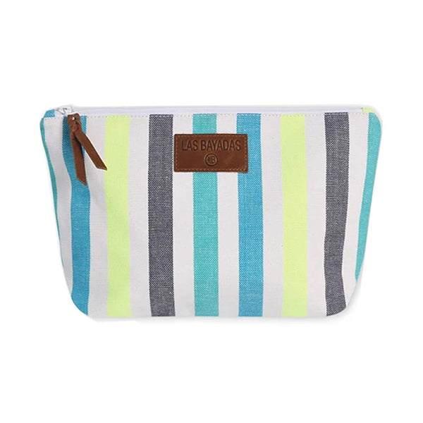 LAS BAYADAS BLUE CLUTCH BAG - SUPPORTS A SCHOLARSHIP PROGRAM