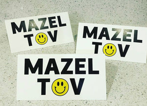 MAZEL TOV CARDS SMILEY - PW
