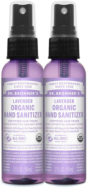 HAND SANITIZER - USDA ORGANIC