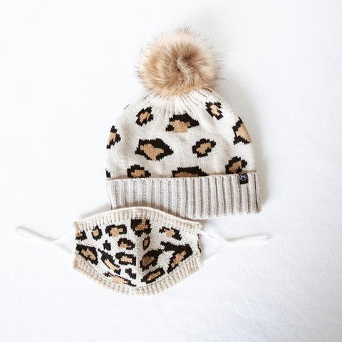 BEANIE AND MASK LEOPARD - TYPE 1 DIABETES