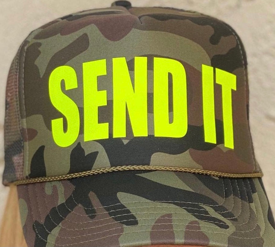 TRUCKER HAT - SEND IT