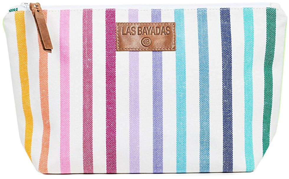 LAS BAYADAS RAINBOW CLUTCH BAG - SUPPORTS A SCHOLARSHIP PROGRAM