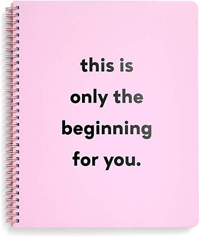 PINK SPIRAL NOTEBOOK - MENTAL HEALTH AWARENESS
