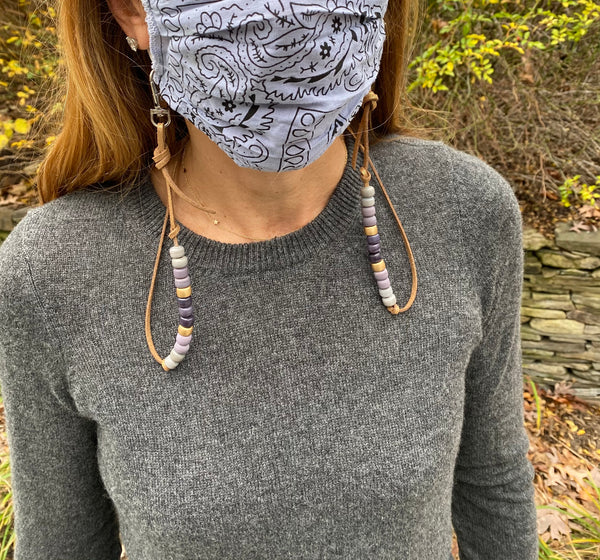 MASK CHAIN SOFT PURPLES