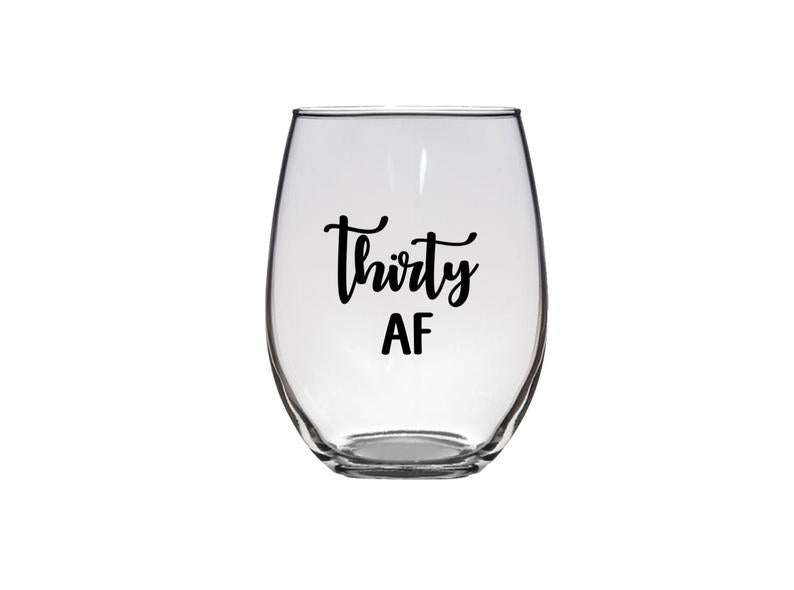 STEMLESS WINE THIRSTY