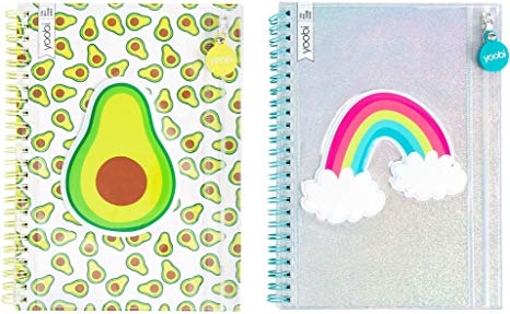 YOOBI SPIRAL NOTEBOOKS - PROVIDES SCHOOL SUPPLIES