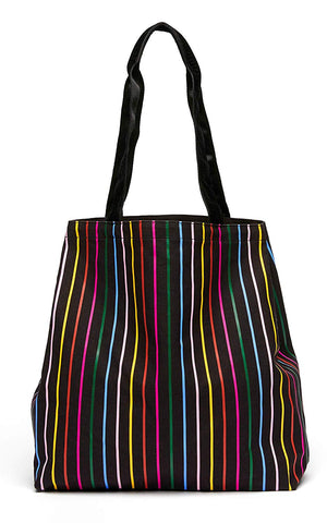 REUSABLE RAINBOW CANVAS TOTE - MENTAL HEALTH AWARENESS