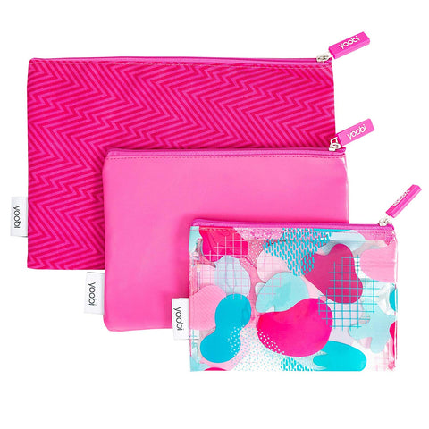 YOOBI ZIPPER POUCH - PROVIDES SCHOOL SUPPLIES