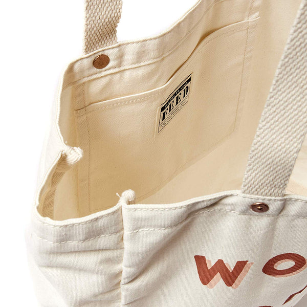 WOMAN ON A MISSION TOTE - FEEDS THE HUNGRY