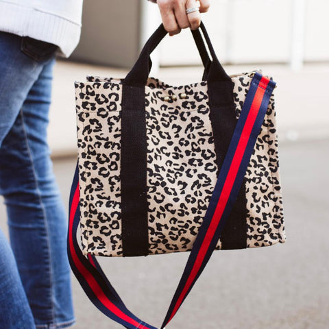 TOTE LEOPARD - TYPE 1 DIABETES
