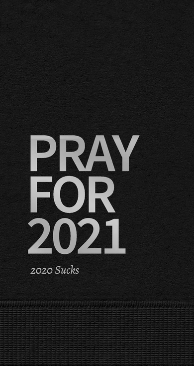 GUEST TOWELS - PRAY FOR 2021