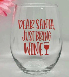 STEMLESS WINE SANTA