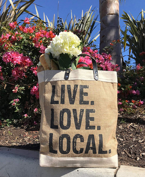 FARMER'S MARKET TOTE BAG - HELPS THE ENVIRONMENT