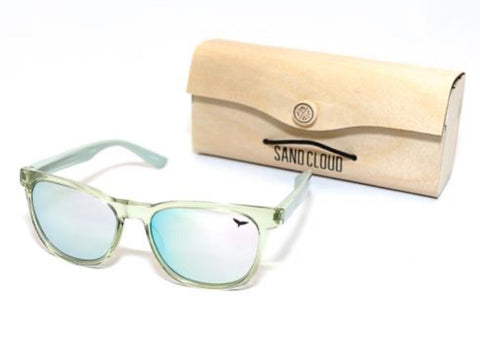 RECYCLED SUNGLASSES GREEN - MARINE CONSERVATION