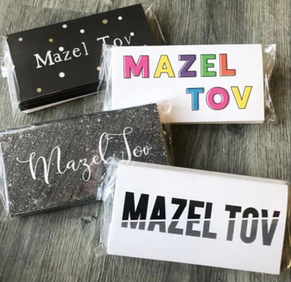 MAZEL TOV CARDS SMILEY FACE - PW