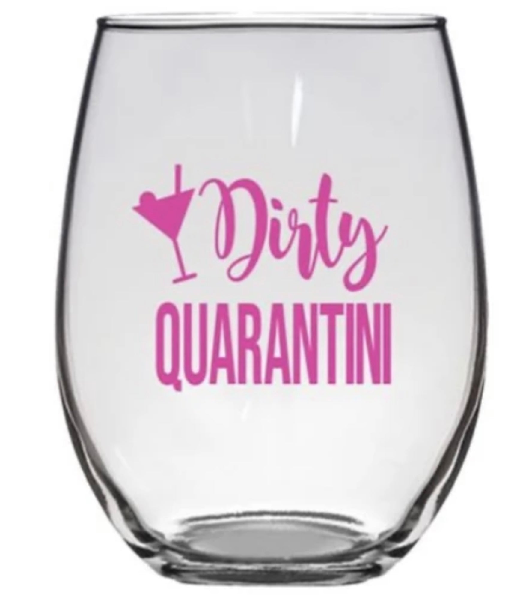 STEMLESS WINE GLASS QUARANTINI PW