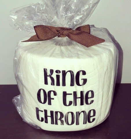 TOILET PAPER ROLL - KING OF GHE THRONE