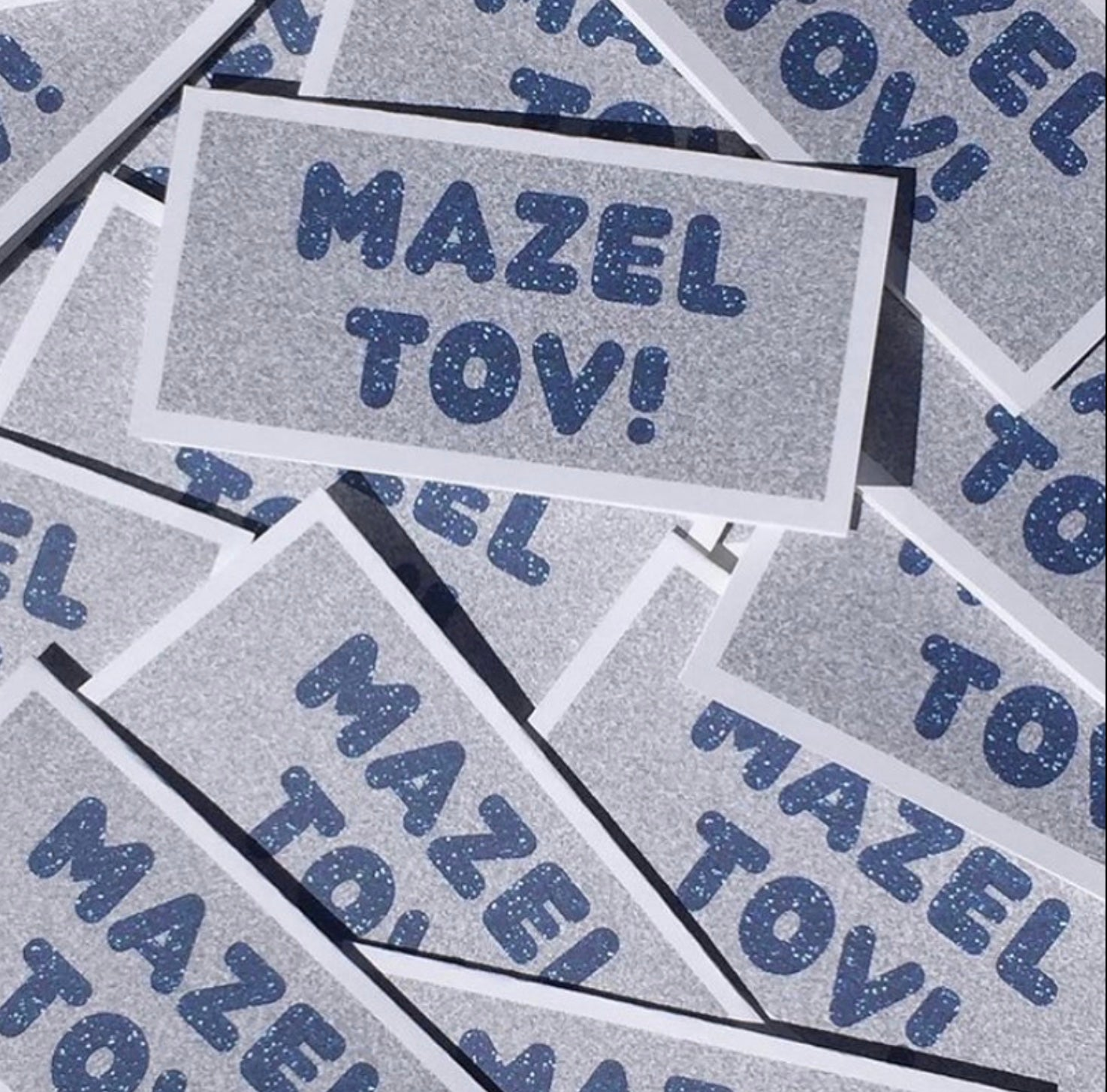 MAZEL TOV CARDS W/SILVER - SUPPORTS ONE TREE PLANTED