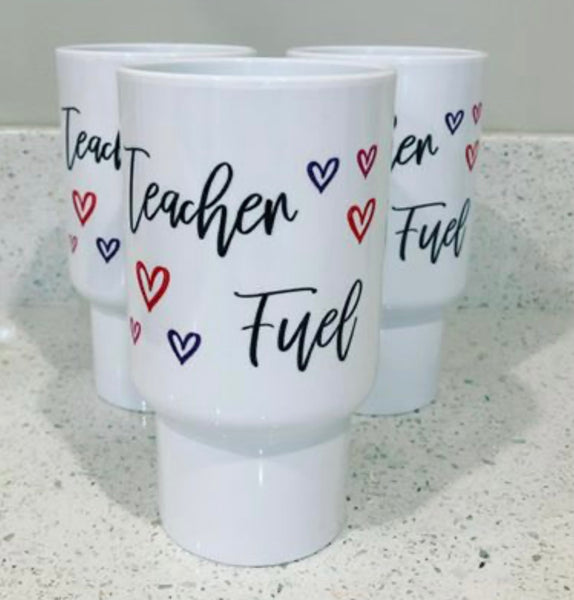 TEACHER FUEL TUMBLER
