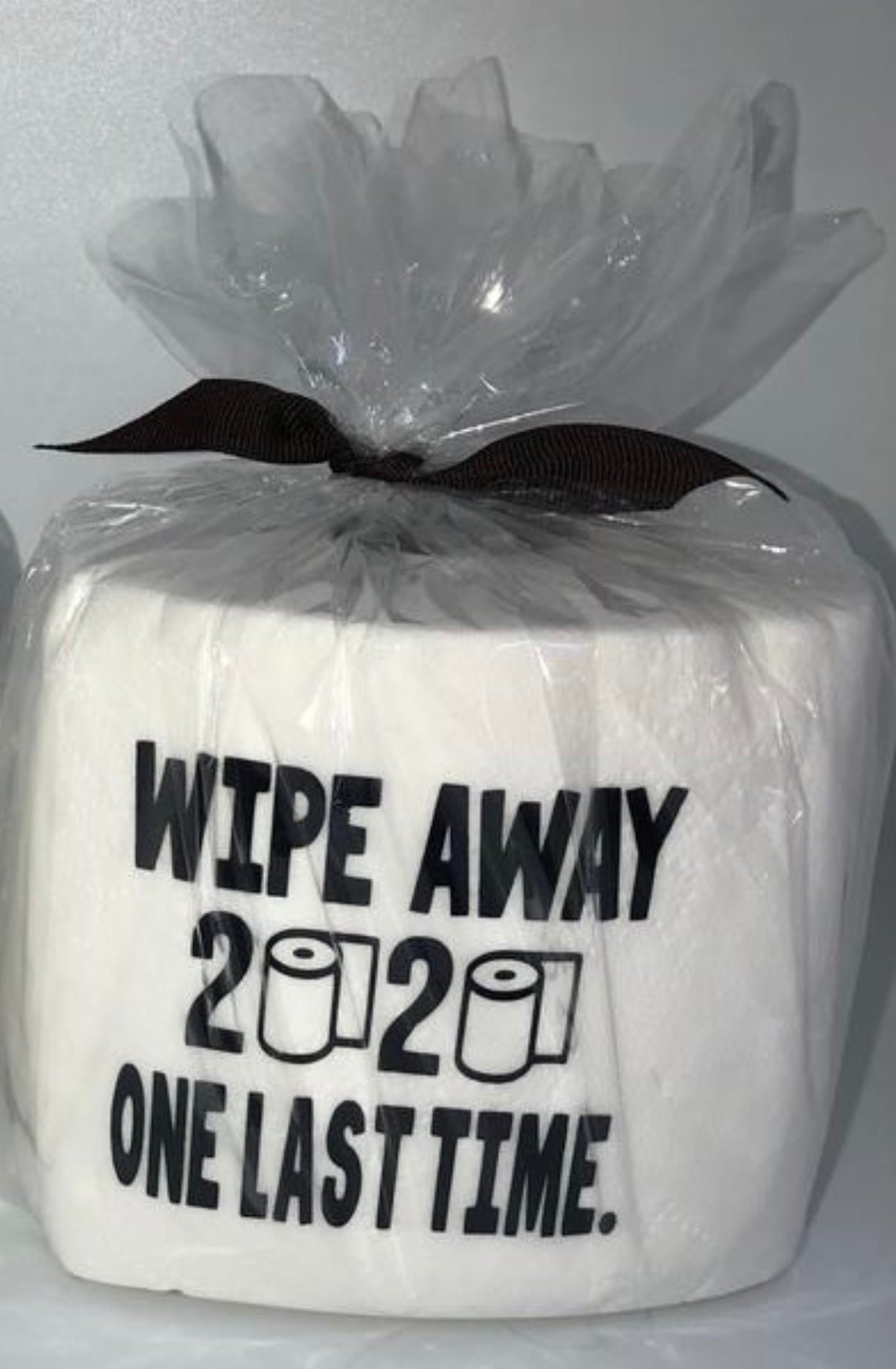 TOILET PAPER ROLL - 2020 WIPE AWAY