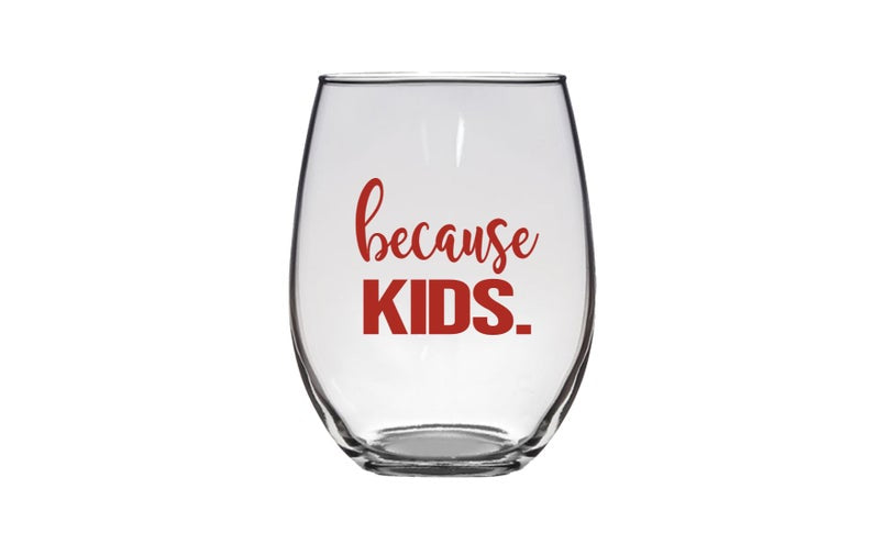 STEMLESS WINE GLASS - KIDS