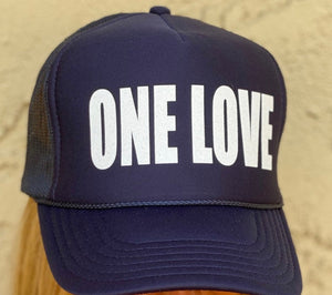 TRUCKER HAT - ONE LOVE