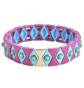 BRACELET- ARGYLE PURPLE